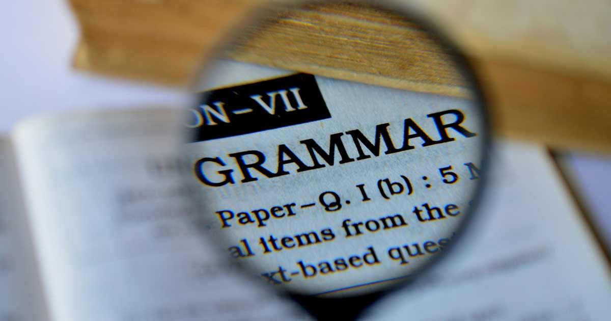 Grammar Skills Quiz